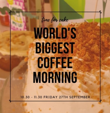 View Worlds Biggest Coffee Morning