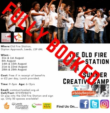 View Summer creative camps 2019 *FULLY BOOKED*