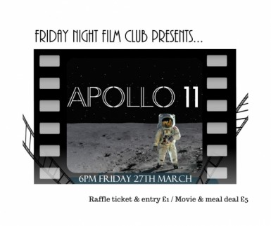 Film club presents: APOLLO 11 Image