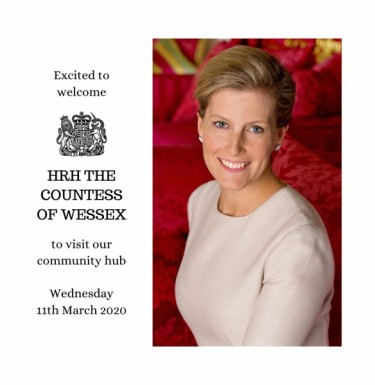 View Excited to announce royal visit!
